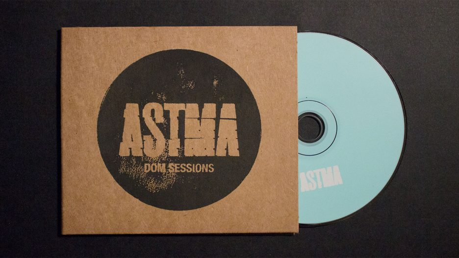 "Cover for ""Dom Sessions"" by Astma"